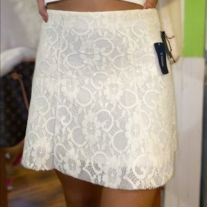 ✨White Lace Skirt✨